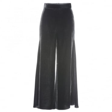 Peter Pilotto Black Velvet Culottes