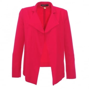 Marc Cain Collections Wool Pink Blazer