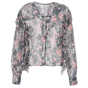 Etoile Isabel Marant Jelby Floral Blouse