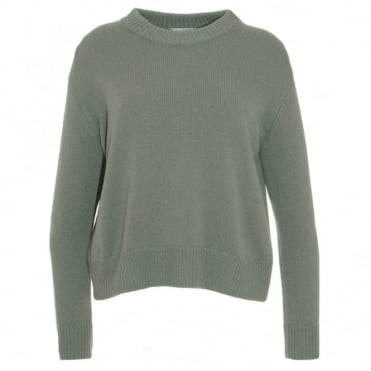 Vince Boxy Crew Neck Sweater
