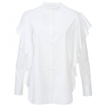 Robert Rodriguez Button Ruffle Shirt