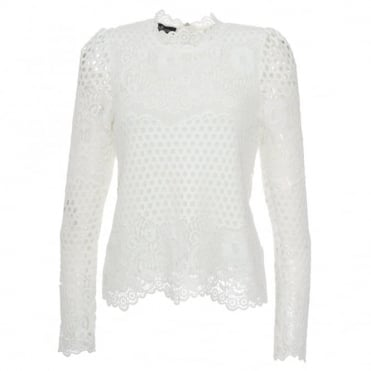 Designers Remix Linnea Lace Top