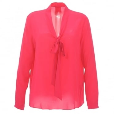 Marc Cain Collections Bow Tie Blouse
