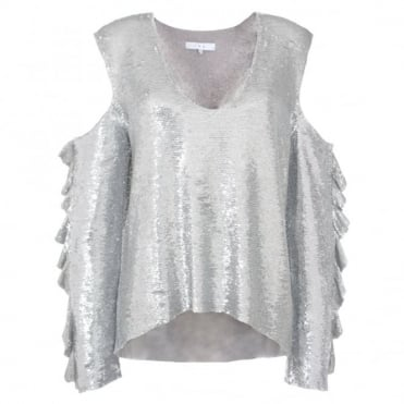 Iro Waleast Sequin Top
