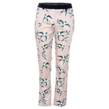 Marc Cain Collections Tailored Bird Trouser