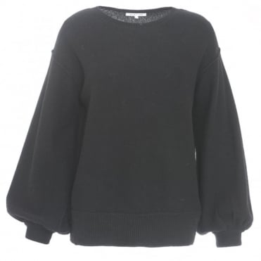 Helmut Lang Balloon Sleeve Sweater