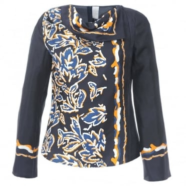 Peter Pilotto Silk Scarf Top
