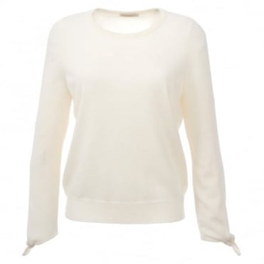Repeat Tie Sleeve Sweater