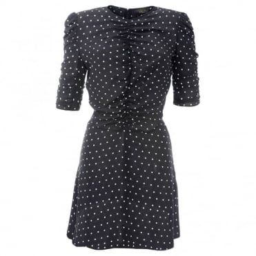 De La Vali Bambi Spot Dress