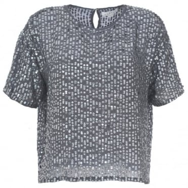 Velvet Lynne Sequin Top