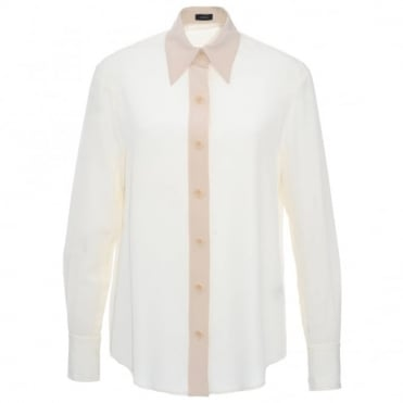 Joseph Garconne Button Blouse