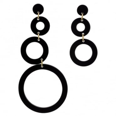 Toolally Asymmetric Circle Earrings