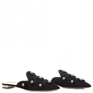 Aquazzura Sunflower Flat Slipper
