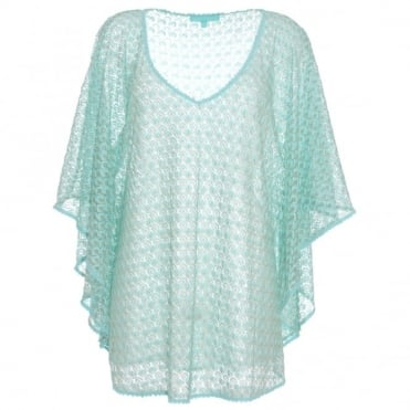 Melissa Odabash Madison Knit Kaftan