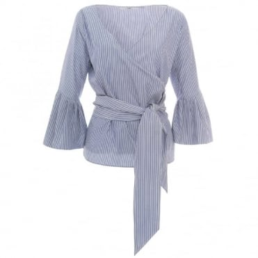 Camilla And Marc Ashworth Stripe Blouse