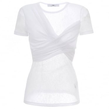 Camilla And Marc Dilute White T-Shirt