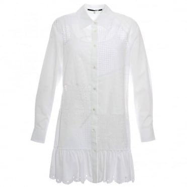 McQ Alexander McQueen Patch Tunic Dress