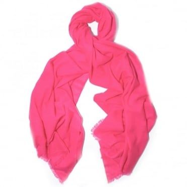 Isabel Marant Minsy Pink Scarf