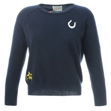 Jumper 1234 Embroidered Charm Sweater
