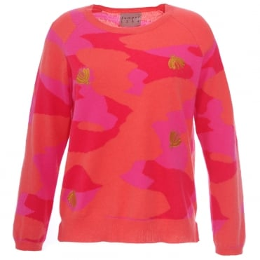 Jumper 1234 Bee Camo Cashmere Jumper