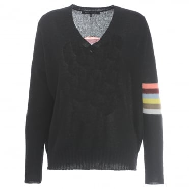 360 Cashmere Zulivee Skull Sweater