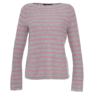 360 Cashmere Faye Stripe Sweater