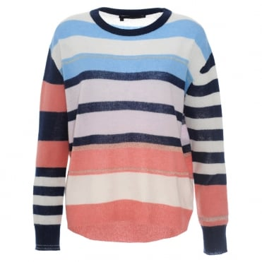 360 Cashmere Thea Stripe Sweater