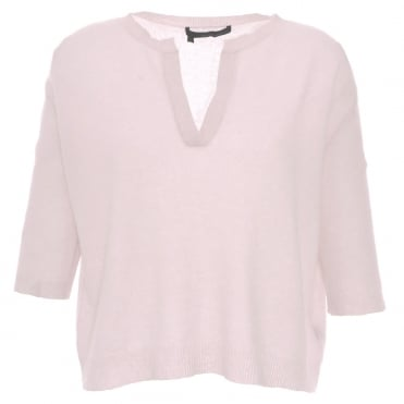 360 Cashmere Anouk Pink Sweater