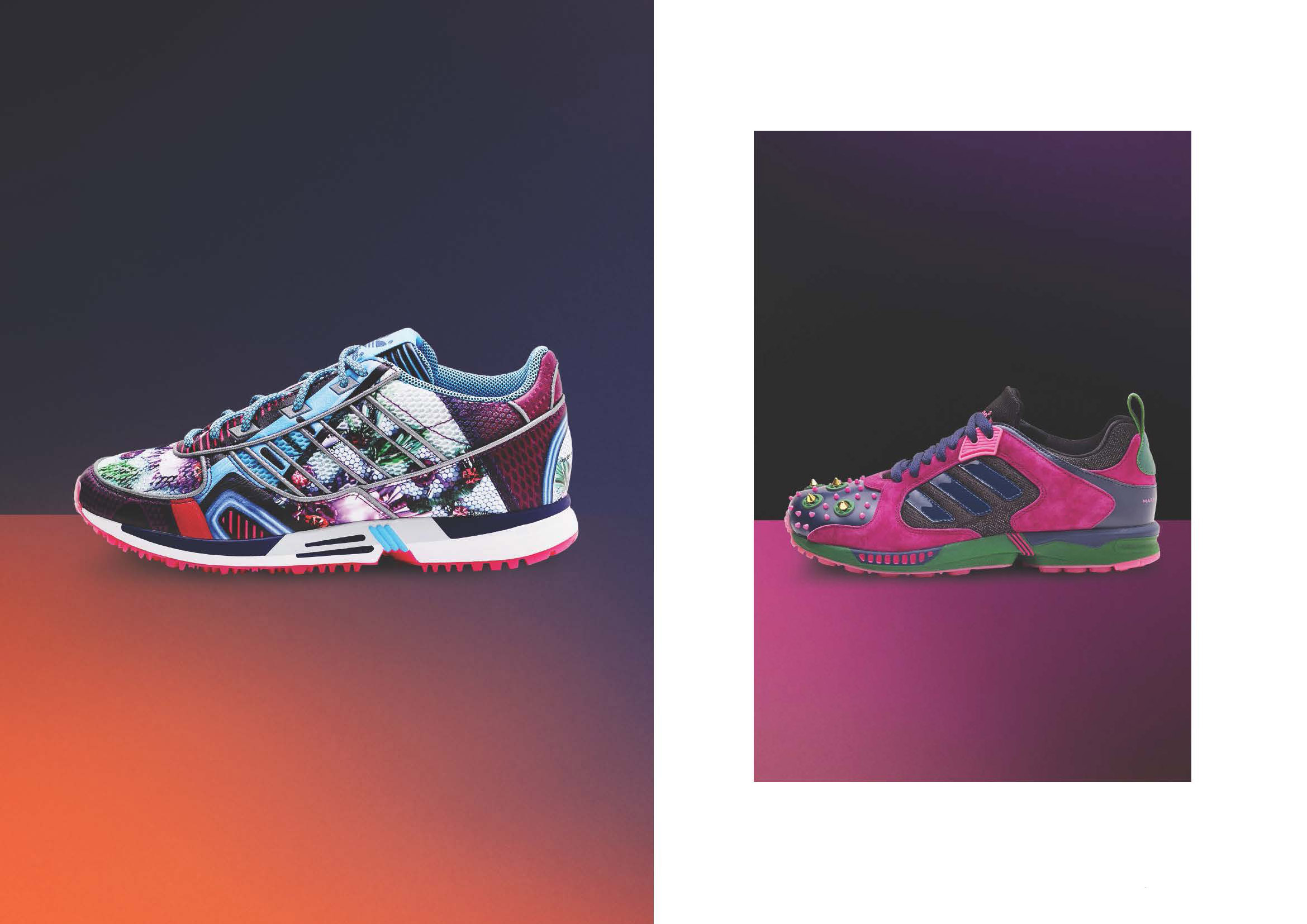 Mary Katrantzou x adidas Originals Footwear Collection