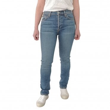 90's Loose Straight Cut Boyfriend Jeans