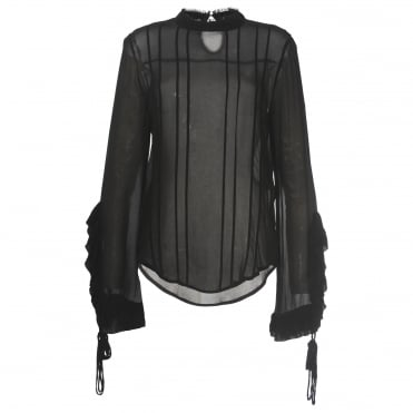 Alexia Black Blouse