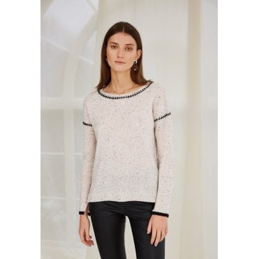 Amber Stitch Seam Jumper