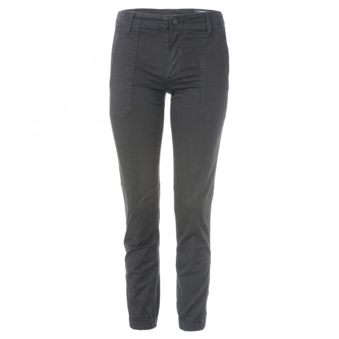 Ankle Zip Utility Trousers