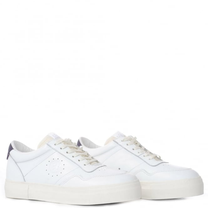 Eytys Arena white leather trainer