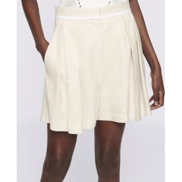 Ariel Pleat Shorts