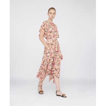Ashlyn Watercolour Floral Skirt