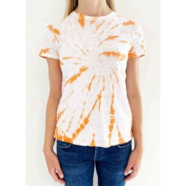 Canary Tie Dye Short Sleeved Tee