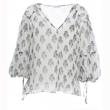 Chantal print Top
