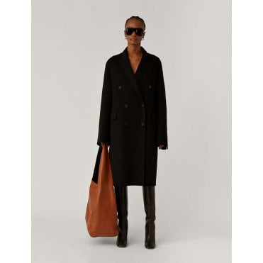 Charles Double Faced Cashmere Long Coat