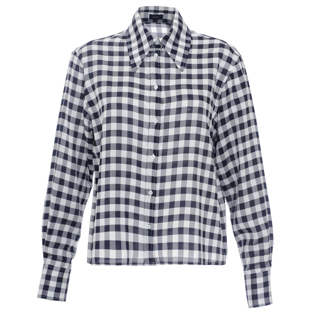 Very Cheap Charlie gingham shirt Joseph Sale Discounts Looking For Discount New Arrival futmbpEANv