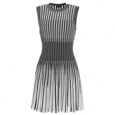 Checker Sleeveless Dress