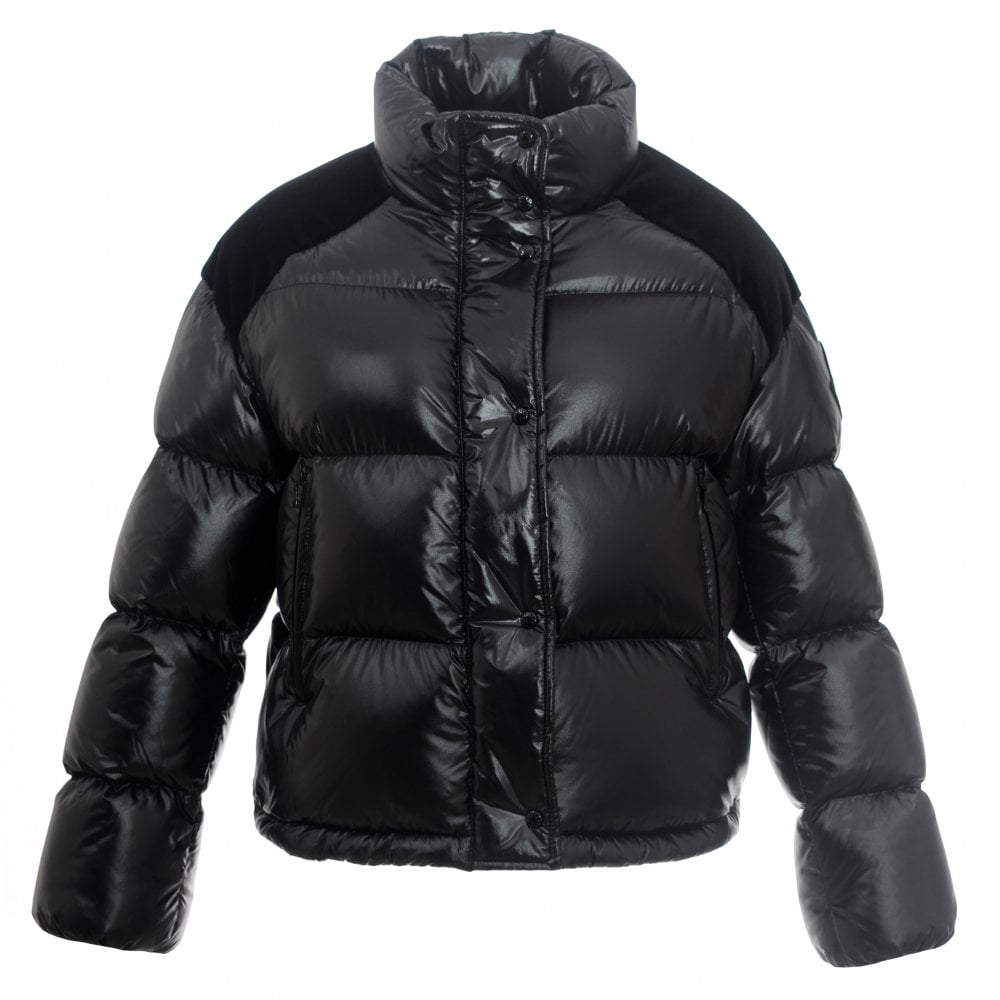 5a971b4f1 Moncler Chouette black down jacket