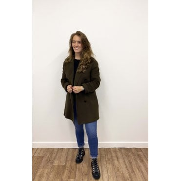 Clavel Double Faced Cashmere Coat