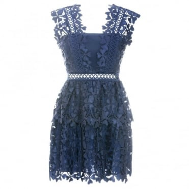 Clover Cutwork Dress