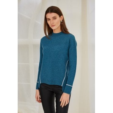 Corina Peacock Seam Jumper