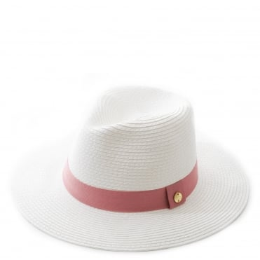 Cream Fedora Hat