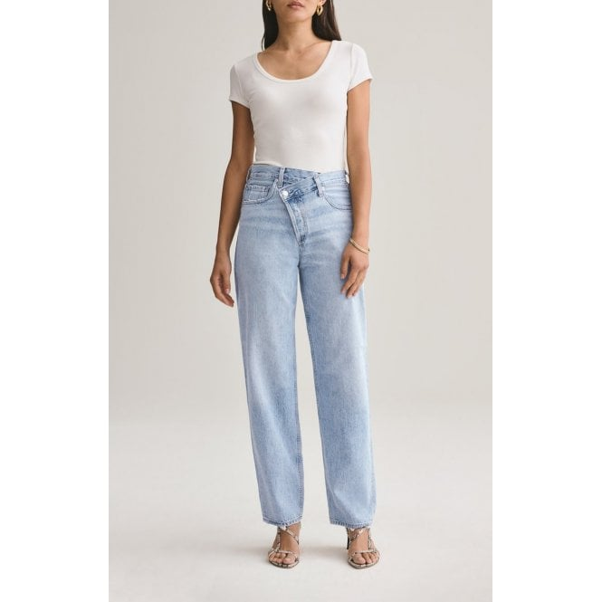 Criss Cross Upsized Jean - Suburbia