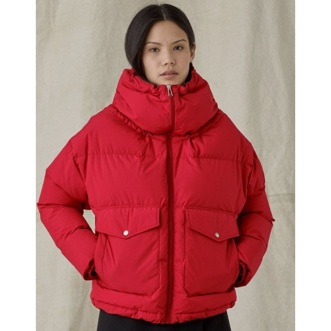 Cromer Quilted Hidden Hood Short Coat