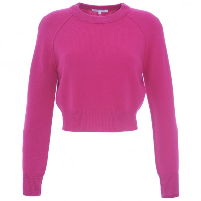Crop Cashmere Sweater