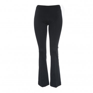 Crop Flare Rib Leggings